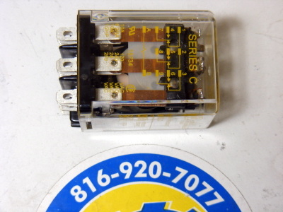 <B>Square D - </B>8501-KUD13V53 General Purpose Relay Series C